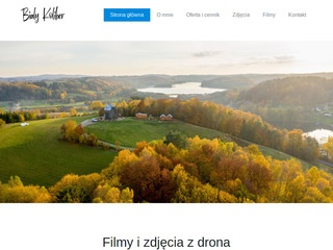 Bialykoliber.pl filmy z drona