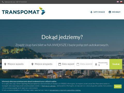 Bus.transpomat.pl autokary międzynarodowe
