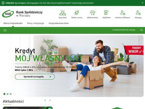 Bsraciaz.pl bank spółdzielczy w Raciążu
