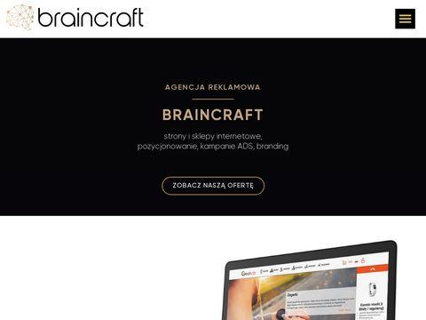 Brcr.pl Braincraft projektowanie stron Zabrze