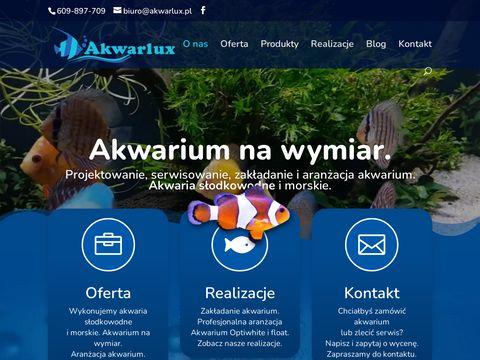 Akwarlux budowa i zakładanie akwariów