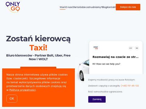 Onlygo.pl partner Uber Bolt i FreeNow