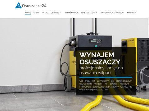 Osuszacze24.pl osuszanie budynków Kraków