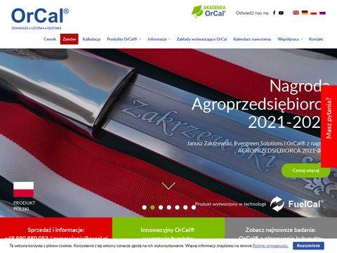 Orcal.pl wapno organiczne