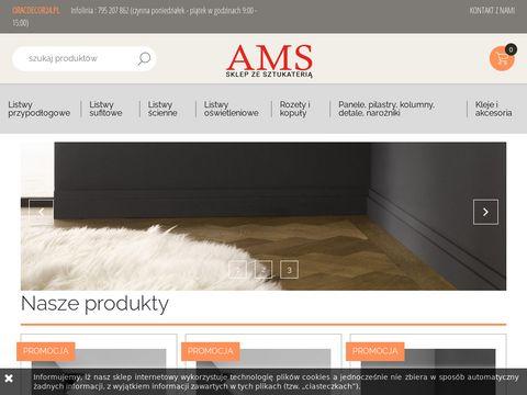 Oracdecor24.pl sztukateria w niskiej cenie