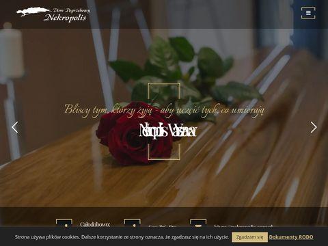 Nekropolis.com.pl zakład pogrzebowy Warszawa