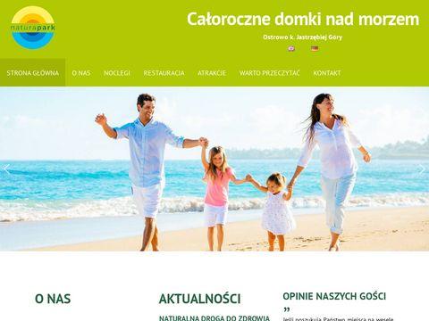 Natura-park.pl - ogrzewane domki nad morzem