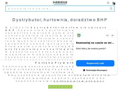 Meridus.pl hurtownia BHP