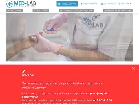 Med-lab.com.pl centrum medyczne