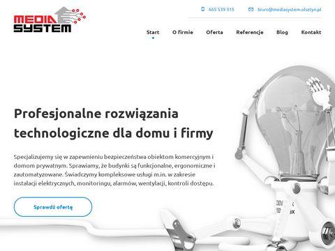 Media System elektryk Olsztyn
