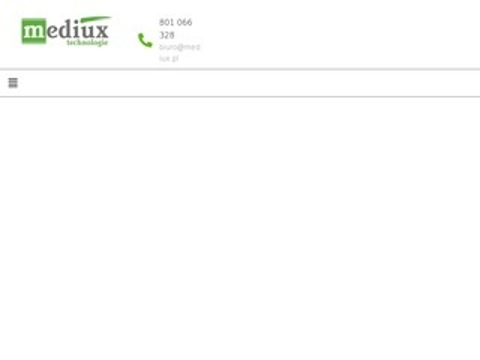 Mediux producent bram wahadłowych