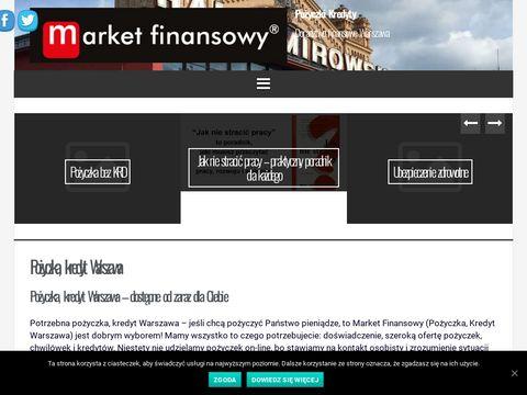 Marketfinanse.pl chwilówki pożyczki kredyty