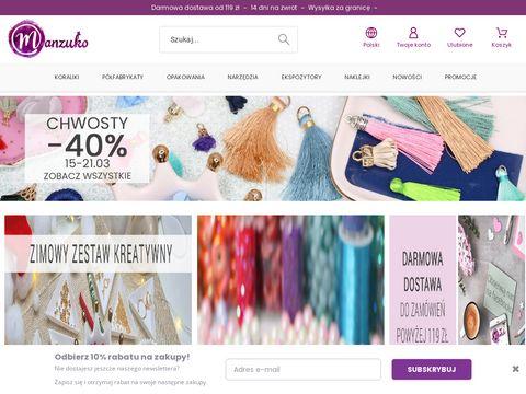 Manzuko.com koraliki do bransoletek