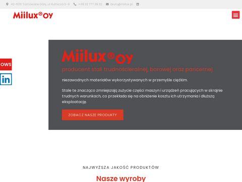 Miilux - zakład produkcji stali blachy
