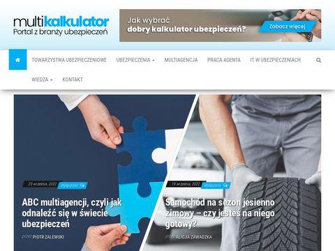 Multikalkulator.pl portal o ubezpieczeniach