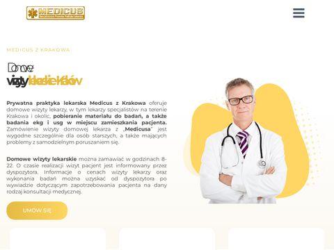 Medicus wizyty domowe lekarza
