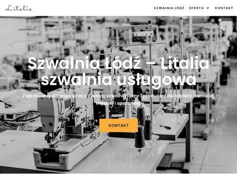 Litalia.pl szwalnia usługowa