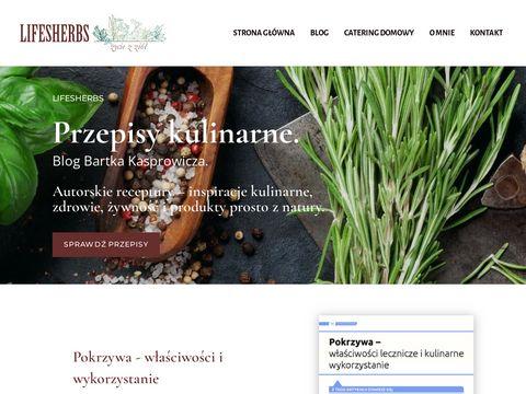 Lifesherbs.pl ziołowa regeneracja