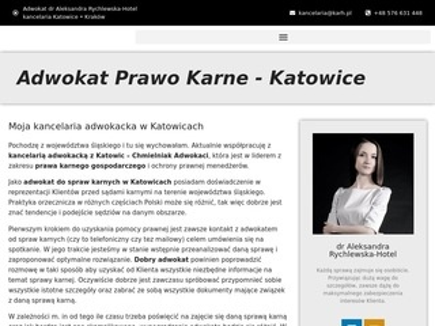 Katowice.karh.pl adwokat sprawy karne