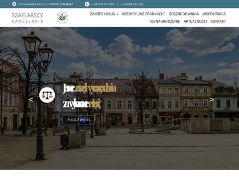 Kancelariaszaflarscy.pl odszkodowania Bielsko