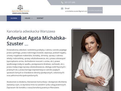 Kancelaria-szuster.pl Agata Michalska