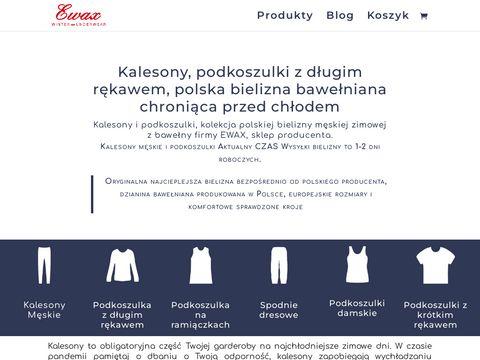 Kalesony.com.pl podkoszulki na ramiączkach