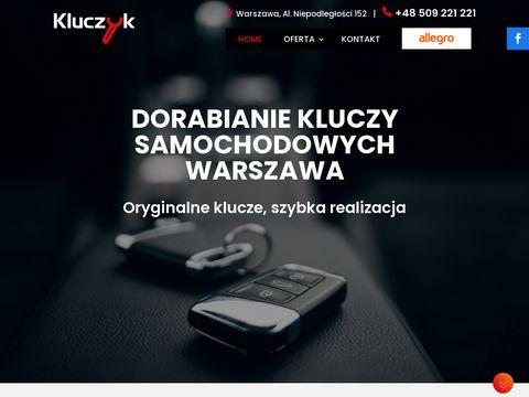 Kluczyk.com.pl dorabianie kluczy