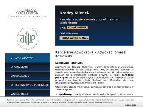 Kozlowski-adwokat.pl kancelaria prawna