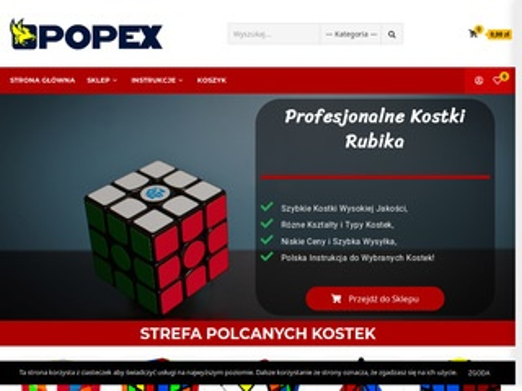 Popex kostki Rubika sklep