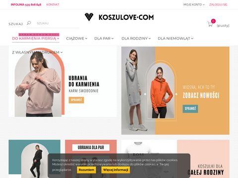 Koszulove.com top dla karmiącej