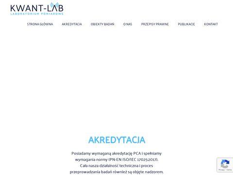 Kwant-lab.pl pomiary PEM