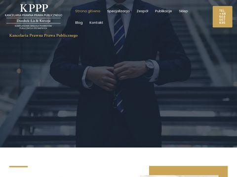 Kppp.com.pl kancelaria prawna