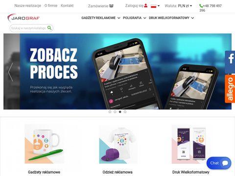 Jarograf.pl druk gadżety reklamowe Śrem