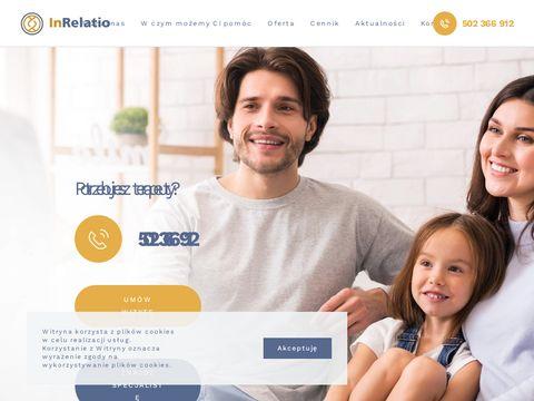 Inrelatiorodzina.pl psychoterapeuta