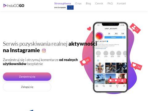 Instago.social wypromuj się na Instagramie