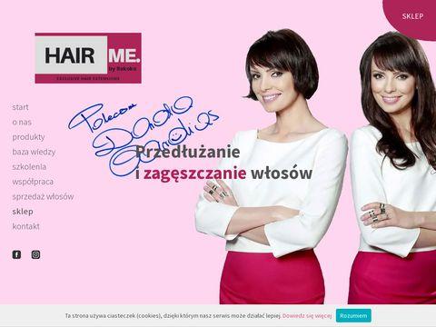 Hairme.pl zagęszczanie włosów