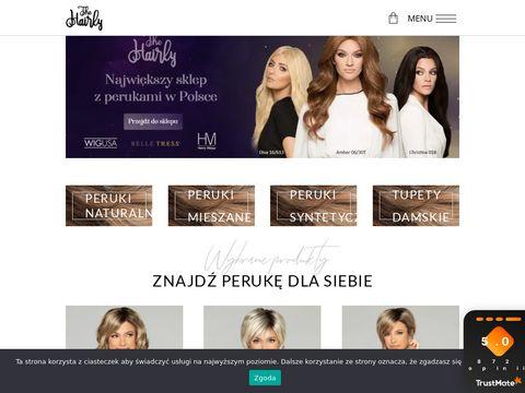 Hairly.pl peruki naturalne niskie ceny