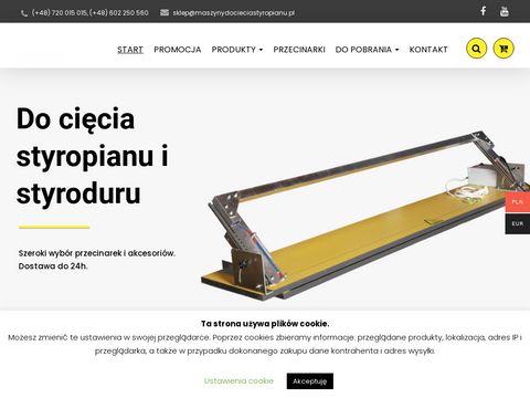 Hot-cut.pl maszyna do cięcia styropianu