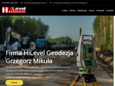 Hilevelgeodezja.pl Nowy Targ