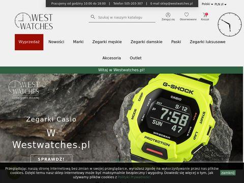 Westwatches.pl największy wybór zegarków