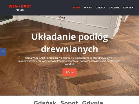 Wen-bart.pl - układanie podłóg