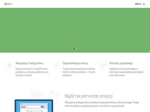 Webshoot.pl strony internetowe