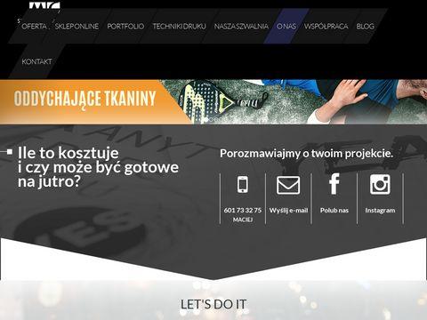 123koszulki.pl oddychające z nadrukiem