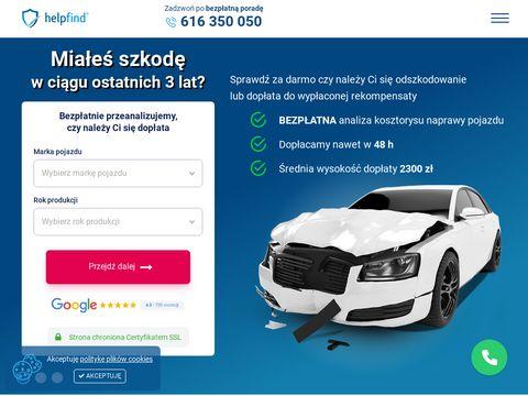 Helpfind.pl odszkodowania