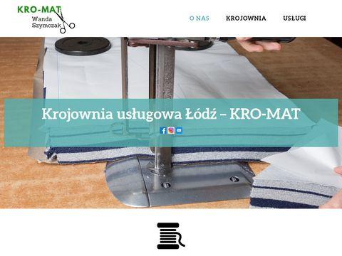 KRO-MAT krojownia usługowa