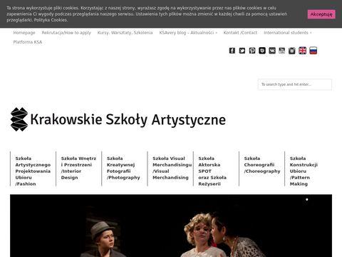 Ksa.edu.pl szkolenia stylizacja