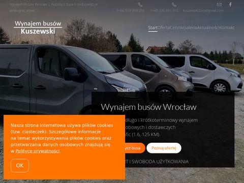 Kuszewski-busy.pl wynajem Wrocław