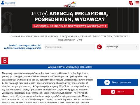 Jkbprint.pl drukarnia cyfrowa
