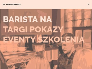 Mobilnybarista.pl catering kawowy