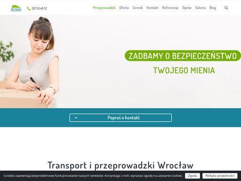 Metrans transport przeprowadzki